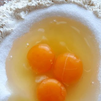 Shortcrust pastry Eggs