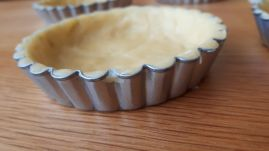 Shortcrust pastry molds